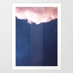 Rain by SUBLIMENATION on society6