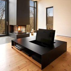 La Cornette by Yiacouvakis Hamelin, Architectes #interior #table #coffee