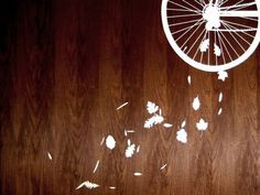 BitterSweet - SCAR #bicycle #design #graphic #stencil #illustration