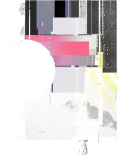 re-form. on Behance #abstract #glitch #reform #poster
