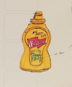 from now and on I will learn from my mistakes (fear) #mustard #markers #drawing #moleskine