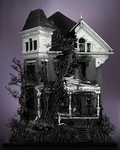 Lego haunted house #lego