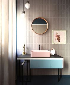 Latest Bathroom Designs and Colors for 2017 - #bath, #interior, #decor, #trend