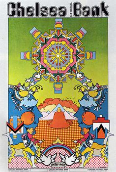 25 Amazing Examples of Psychedelic Artwork #poster #psychedelic #peter max #60s