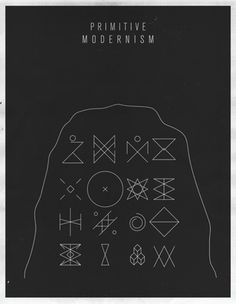 FFFFOUND! | S & S Shop by Script and Seal — Primitive Modernism #simbolism #primitive #simbol #poster #art #modernism