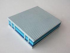 Handbound Notebooks on the Behance Network #craft #handbound #notebook #polka #dot