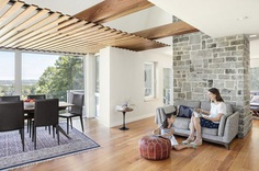Gambrel-Roofed Home Renovated by Kaplan Thompson Architects 4