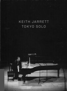Images for Keith Jarrett - Tokyo Solo #album #fuller #sans #black #minimalism #cover #ecm #records
