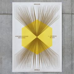 poster for 'Graphic Method', an exhibition - Jaemin Lee #poster
