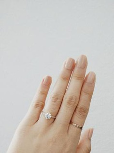Simple yet perfect engagement ring