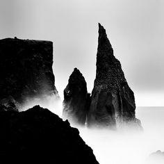 Iceland II - Michael Schlegel #photography #black and white #photo #iceland #michael schlegel
