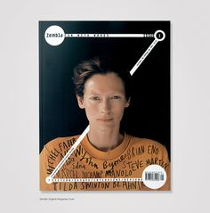 PRINT.PM #zembla #tilda #print #design #graphic #cover #swinton #photography #magazine #typography