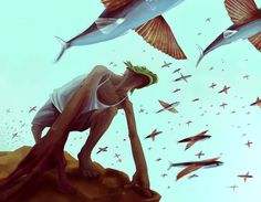 Africa #fish #sky