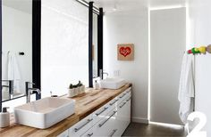 Inspiration for Faith & Mike's Master Bathroom Renovation Diary | Apartment Therapy #sink