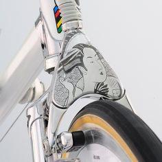 Auf das Wesentliche reduziert liegen Vintage und Retro Fahrräder im Trend.