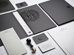 Hörst | Identity Designed #business #branding #card #identity #collateral #stationery