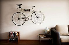 bike rack #interior #inspirational #creative #design #home #bike #rack #cool
