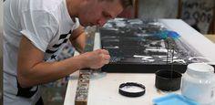 Jake Hart working on 'Big City Dreaming'