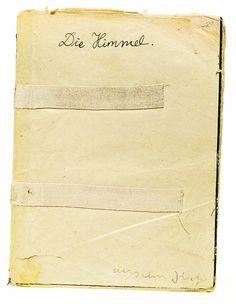 die himmel #notebook
