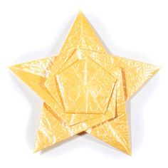 How to make a five-pointed seashell origami star (http://www.origami-make.org/howto-origami-star.php)