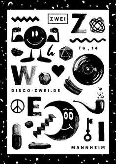 Zwei - Thomas Wolf #print #poster