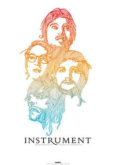 GigPosters.com - Instrument #color #poster