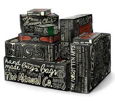 The Manual Co. #packaging #bags #manual