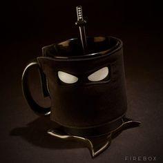 Ceramic Ninja Mug #tech #gadget #ideas #gift #cool