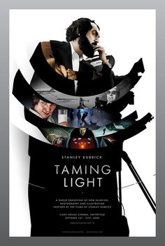 Taming Light: Stanley Kubrick : Martin Ansin, Illustrator | Illustration Portfolio #composition