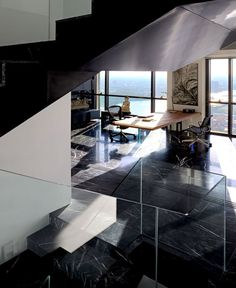 PANO   Three Floors Penthouse Residence penthouse interior designs emanates luxury