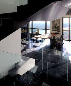 PANO   Three Floors Penthouse Residence penthouse interior designs emanates luxury