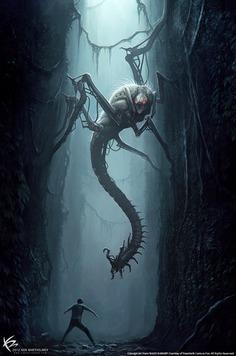 The Maze Runner – Creature Designs & Concept Arts