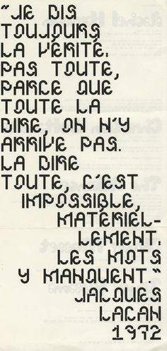 2 types from m/m paris | Typophile #mm #paris #typography