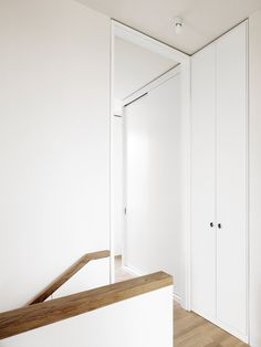 Hallway. Detached House by CAMA A. Photo by Hiepler, Brunier. #hallway #camaa #minimal