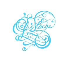 Pistache © Engin Korkmaz 2007 | Flickr - Photo Sharing! #creative #flourish #design #floral #custom #type #typo #typography
