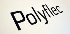 Fonts - Polyflec by Typodermic - HypeForType Font Shop #font #polyflec
