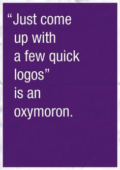 'Confessions Of A Designer', What Goes On In A Designer's Mind - DesignTAXI.com #design #gems #poster