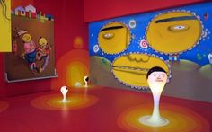 The Fox Is Black - 2/938 - A design blog that dabbles in music and culture #los #installation #explodes #gemeos #art #angeles