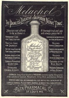 Quack remedies of yore - Corrects Perverted Secretions - Boing Boing