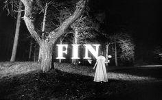 hannahkarina: thewhiteoleander: hellandmilk: ... #fin #end #vintage #forest #credits