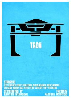 Tron VS. Saul Bass on the Behance Network