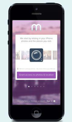 iPhone - Connections Setup Screens by Eric Hoffman #iphone #app #connect #setup #ios #retina