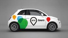 We Tours #logo #identity #branding