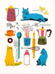 Etsy Finds: Boyoun Kim #cats #cat #food