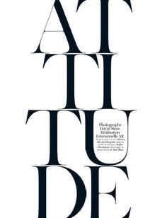 French Vogue April 2012 #typography #vogue #graphics #black and white #editorial