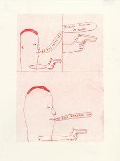 Image of En tøff type #illustrasjon