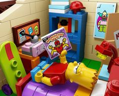 Lego Simpsons Set3