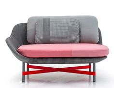 Minimalistic Ottoman Seat with Organic Form - furniture, furniture design, #design, modern furniture, #furniture