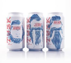 lovely-package-tusk-beer-1 #packaging #can #craft can