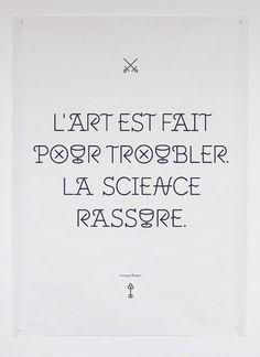 Benjamin Varin, portfolio, graphiste #kimiya #quote #al #braques #typeface #typography